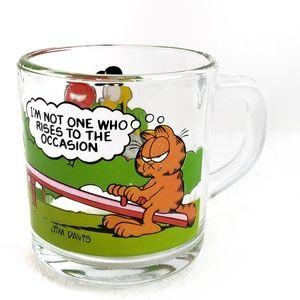 1978 Vintage Garfield McDonald's Glass Mug
